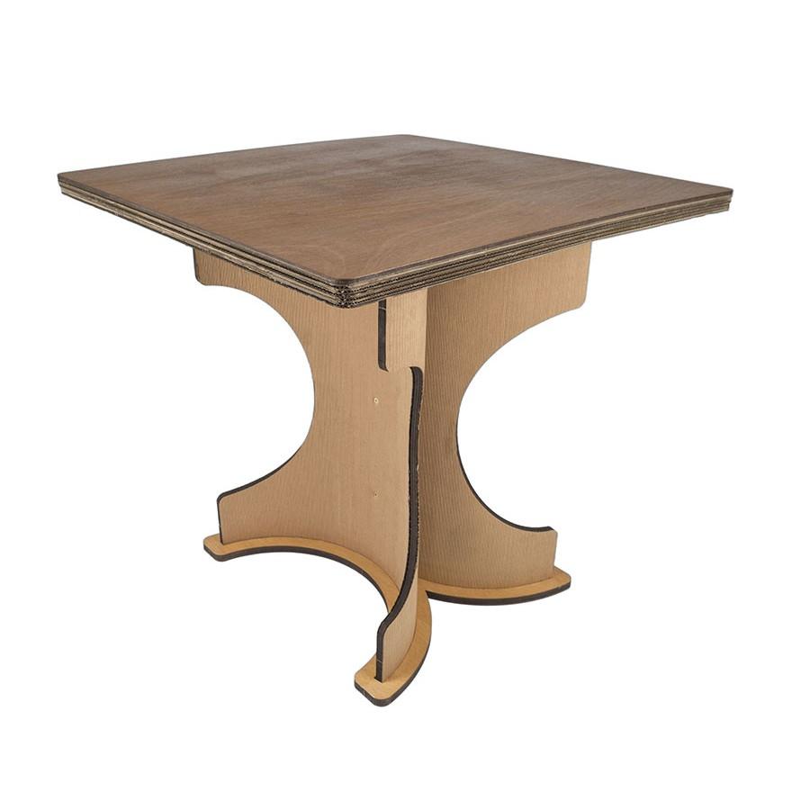Mobili in cartone sekkei design sostenibile tavolo for Archi arredo roma