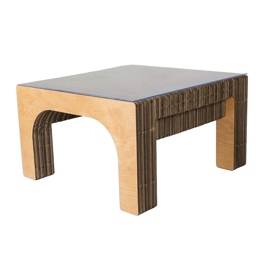 e782e863ff Mobili in cartone | Sekkei Design Sostenibile - Tavolino in cartone ...