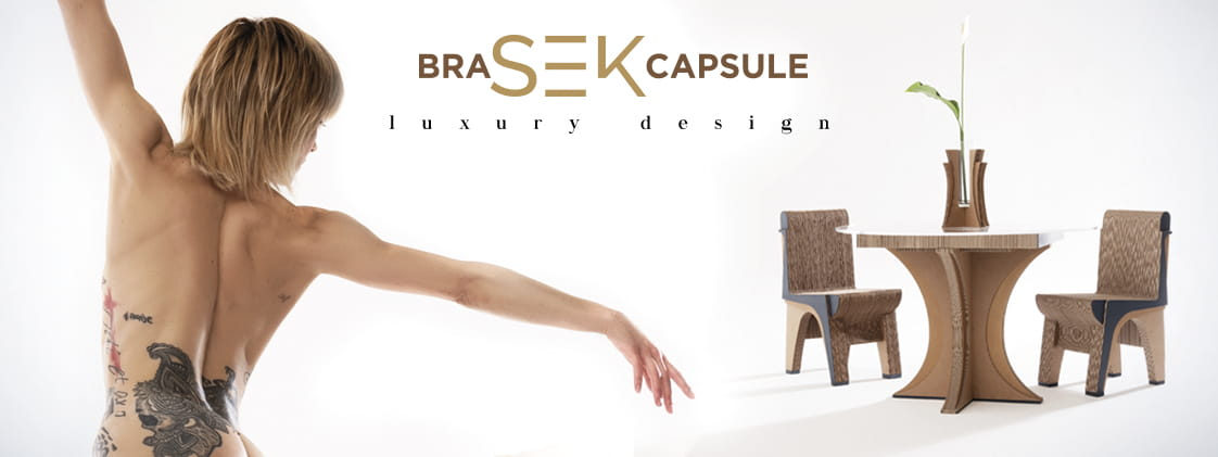 Sekkei Design Sostenibile - Luxury Design Bra-Sek